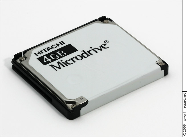 Hitachi 4GB Microdrive HMS360404