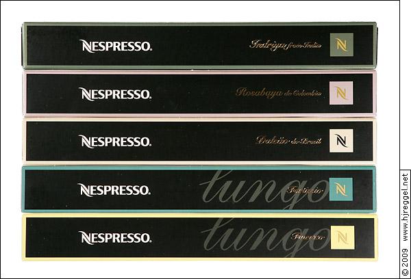Nespresso neue sorten